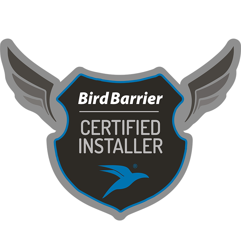 bird barrier certified installer badge